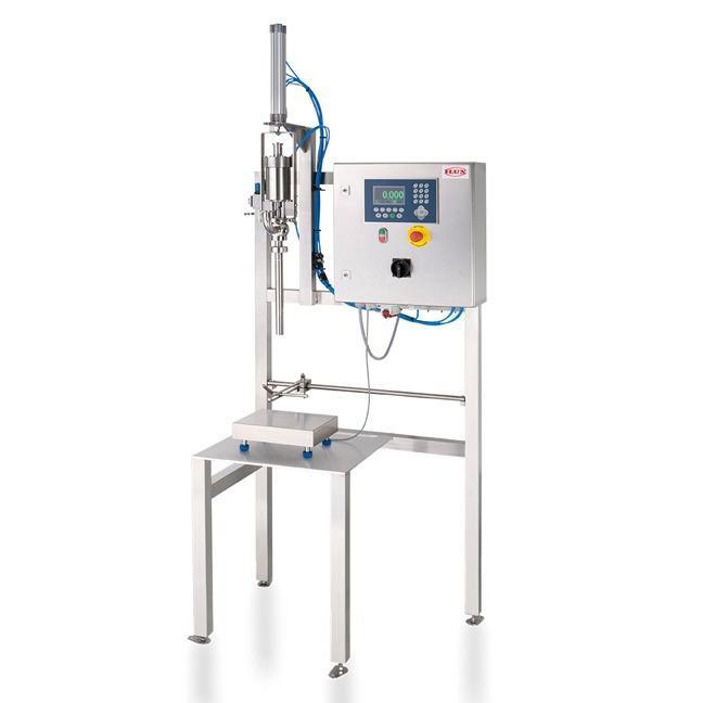 Abfüllsystem FLUX-FILL WT - Zum eichgenauen, effizienten Abfüllen von Fluiden