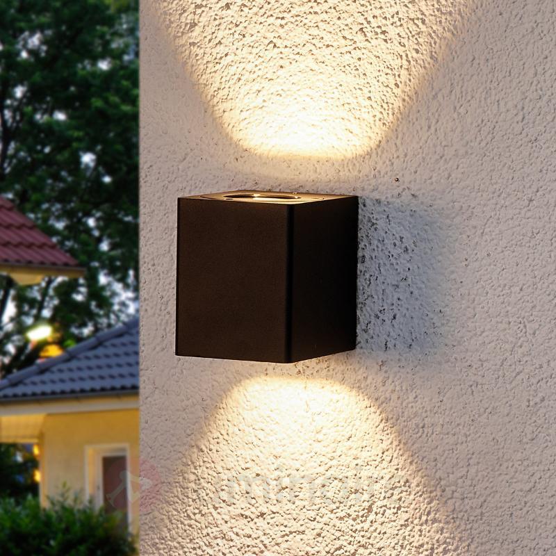 Lukas - applique ext. LED avc filtre décoratifs - Appliques d'extérieur LED