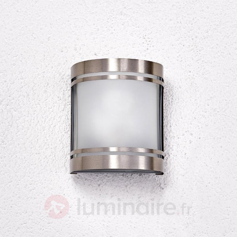 Applique Lenea esthétique en inox - Appliques d'extérieur inox