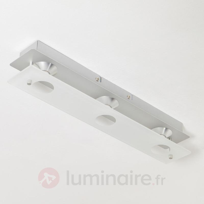 Plafonnier LED Filian à 3 lampes - Plafonniers LED