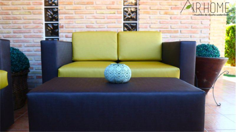 Conjunto mobiliario de exterior - Compuesto por tres piezas