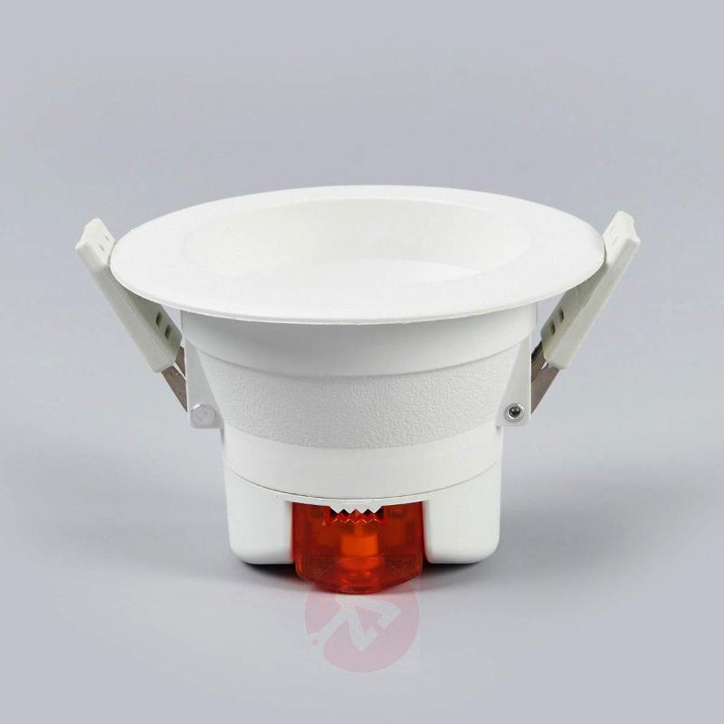 Round LED recessed light Arian, 9.2 cm, 6 W - Recessed Spotlights