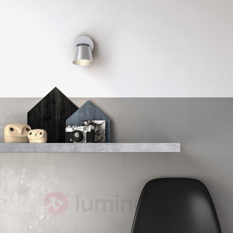 Spot LED Dender chrome mat - Appliques chromées/nickel/inox