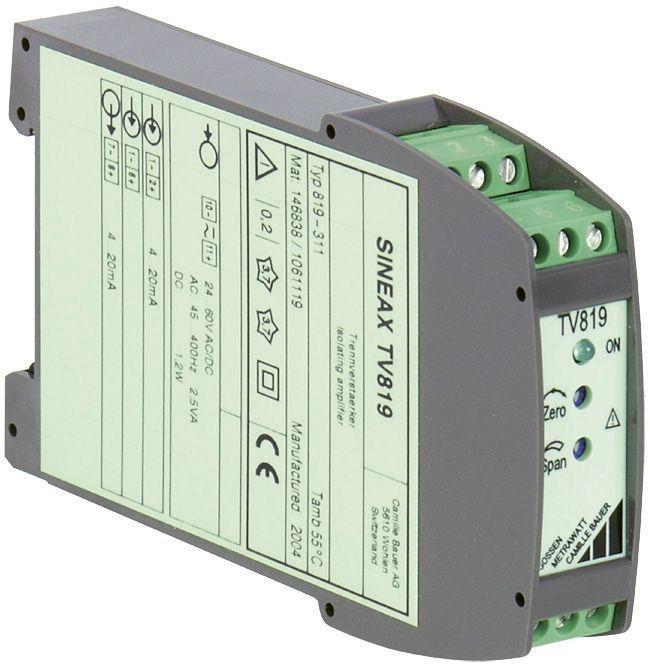 SINEAX TV819 - Amplificateurs d'isolement