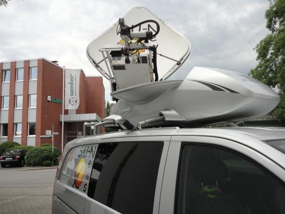 Antennenrotore / Antennenpositionierer - Drehgetriebe zum Positionieren von Antennen AZ EL