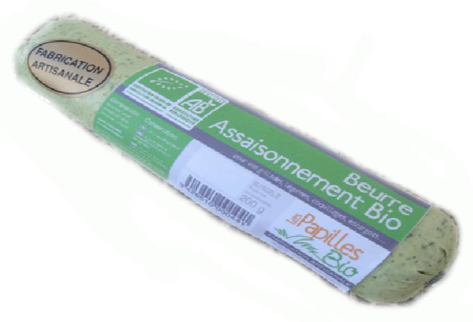 beurre d'escargot surgelé - Beurre persillé biologique et surgelé