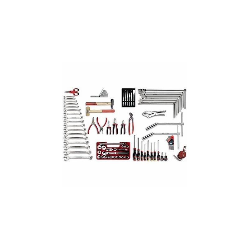 USAG 496 B1 Assortiment outils pour l'automobile (85 pièces) - Outillage