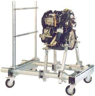 Transportable Motorhalterungen -