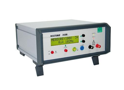 RESISTOMAT® 24508 Digital megohmmeter - Automatic/manual switch of measurement range, limit value indicator,