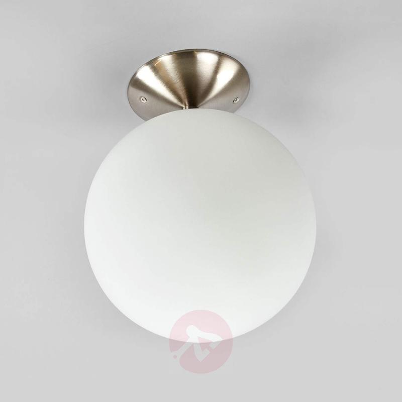 Semi-flush ceiling lamp Rondo-C LED RGBW - indoor-lighting