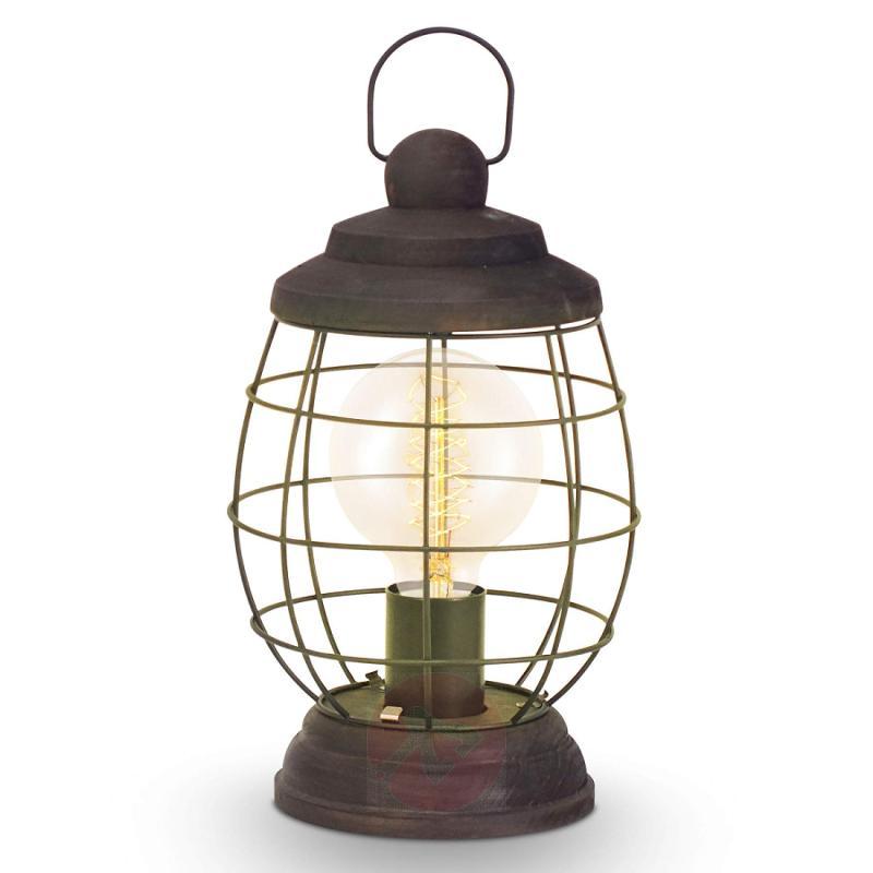 Bampton - rustic table lamp - indoor-lighting