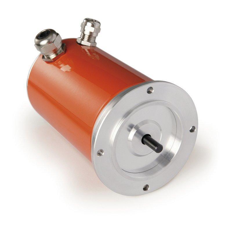 齿轮电位计 GP43 - 齿轮电位计 GP43, 带实心轴的铝制外壳