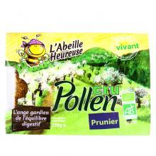 Pollen prunier - Biologique et surgelé