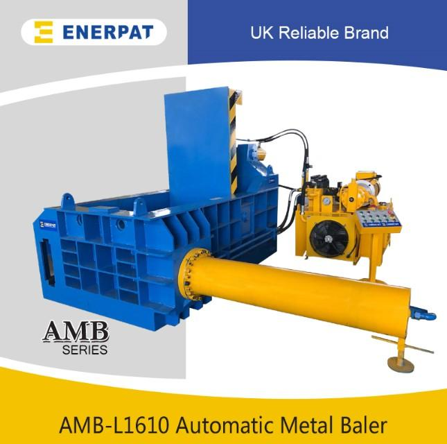 Automatic scrap metal baling press machine with CE