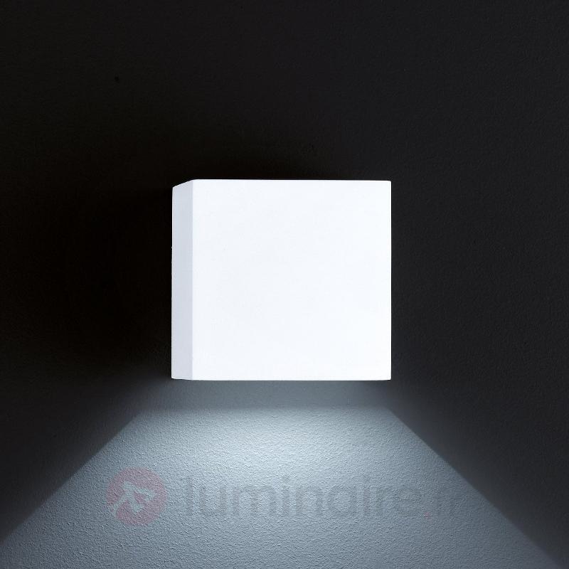 Applique d'extérieur LED SIRI 44 blanc mat - Appliques d'extérieur LED