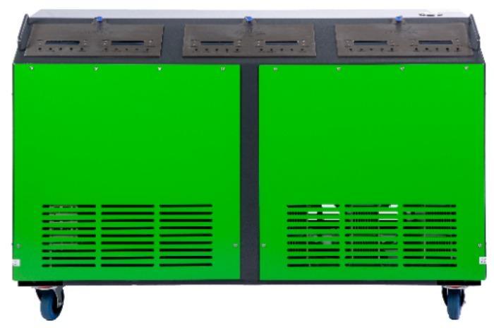 Station de décalaminage • Hy-Carbon 3000S - Machine de décalaminage moteur par injection d'hydrogène
