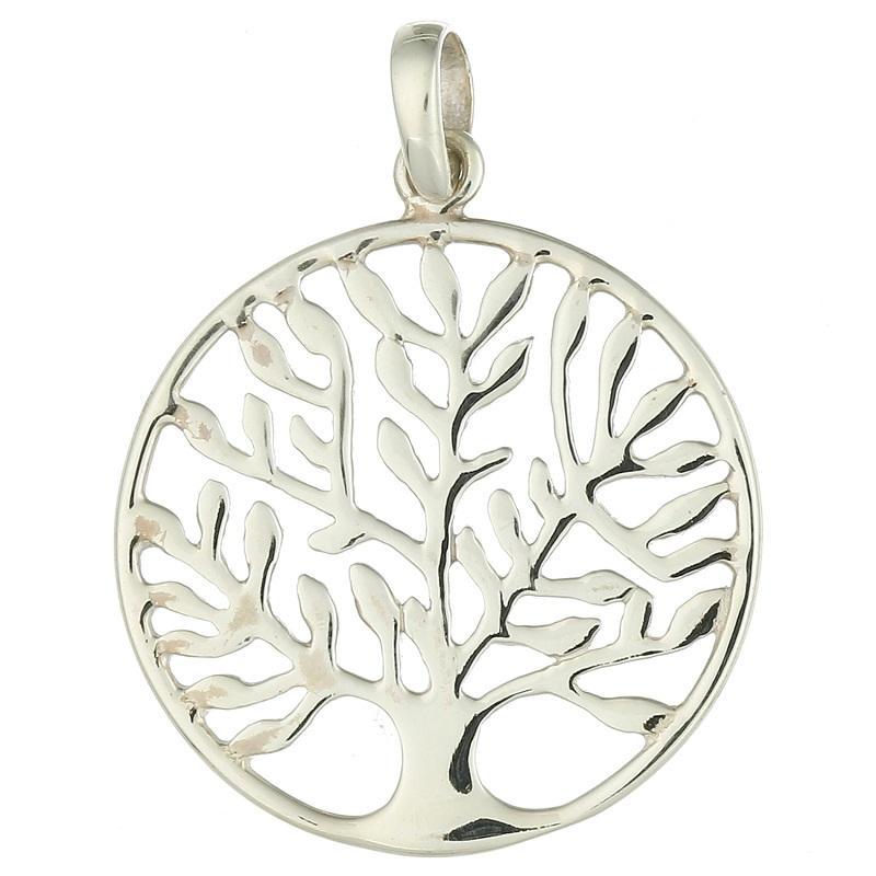 Pingente em Prata 925 Árvore da Vida