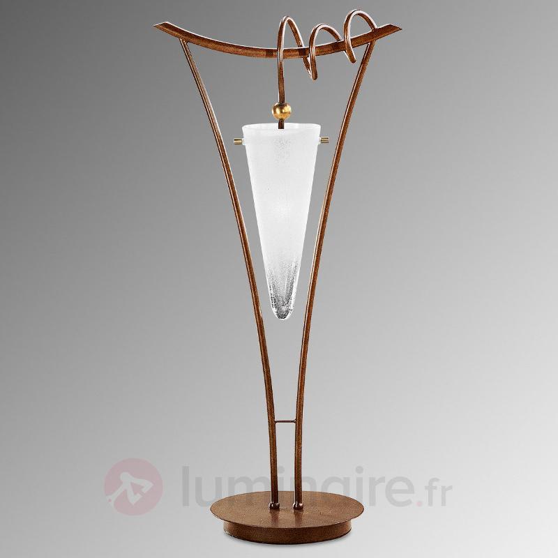 Lampe à poser intéressante Serena - Lampes à poser rustiques