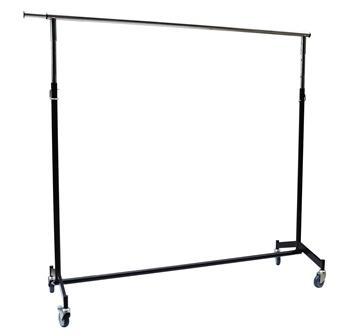 Perchero 1 barra 150 cms.  - Graduable y extensible.