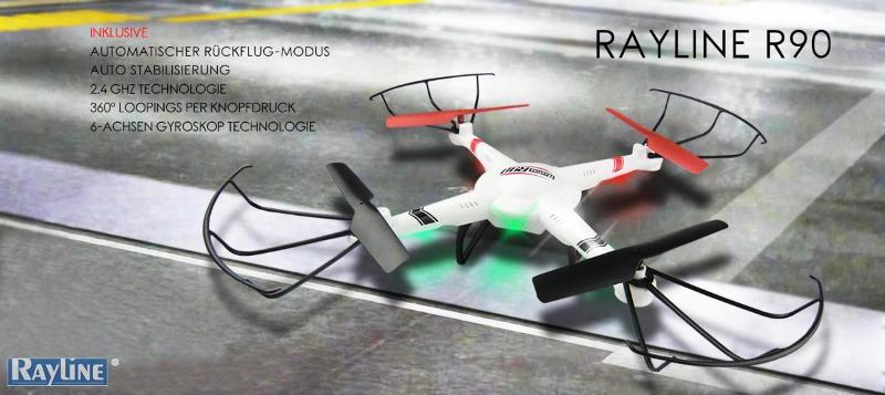 RC Ware anderer Hersteller RC Quadrocopter - R90