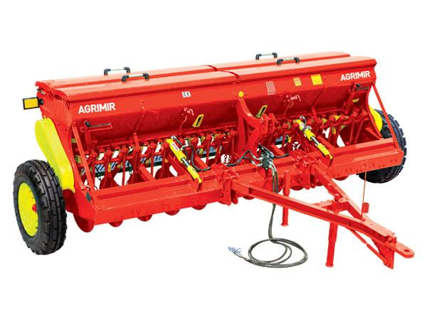 Combined Grain Seed Drill - Single Disc - Combined Grain Seed Drills