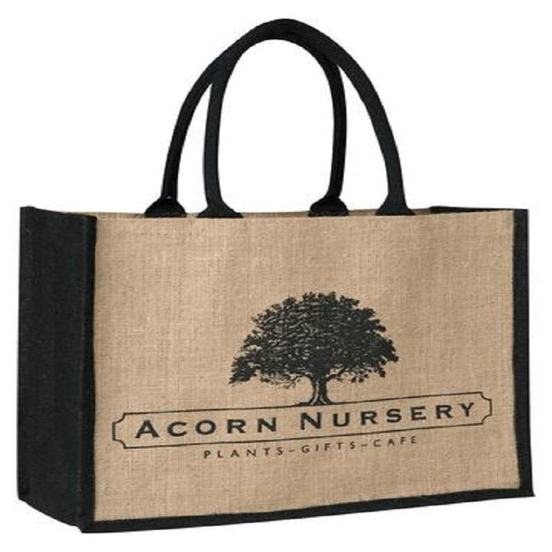 Personalised Jute Conference Bags - Personalised Jute Conference Bags
