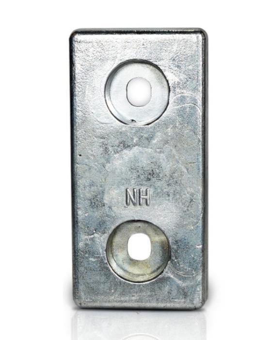 Ânodo de zinco para protecção catódica - Ânodos de aparafusar NH 1.2