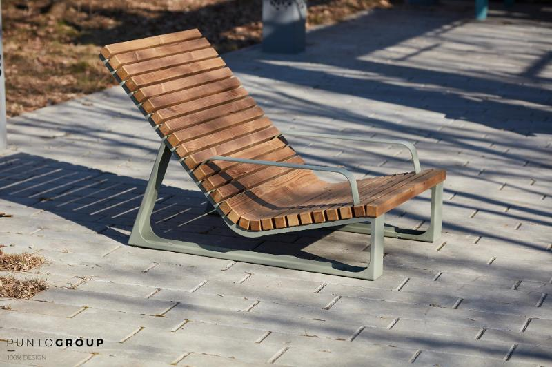 "Bench ""Summer 2"" (Sun lounger) - Benches and sun loungers"