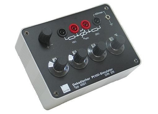 Digital PT100 simulator - 4501 - Pt100 calibration simulator, precision , compact and easy to use