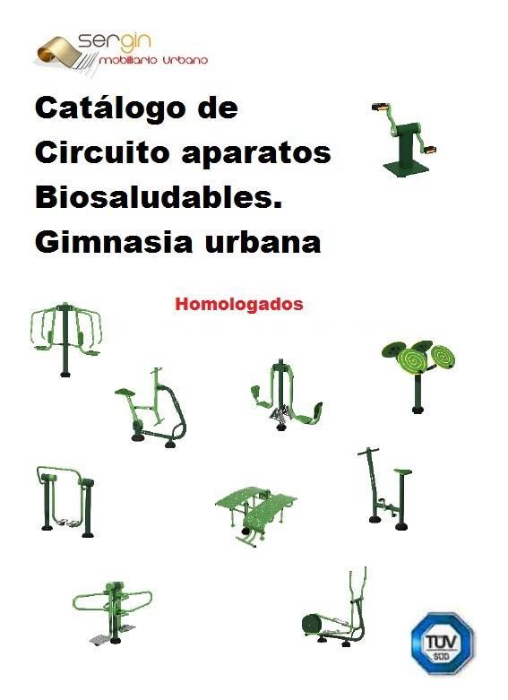 Circuito de gimnasia biosaludable - para mayores