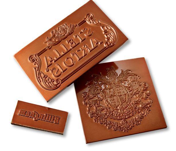 Flat copper blocking dies -