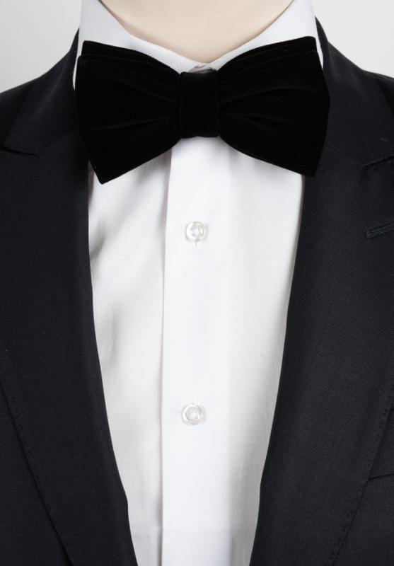 Noeud en velours noir - Accessoires