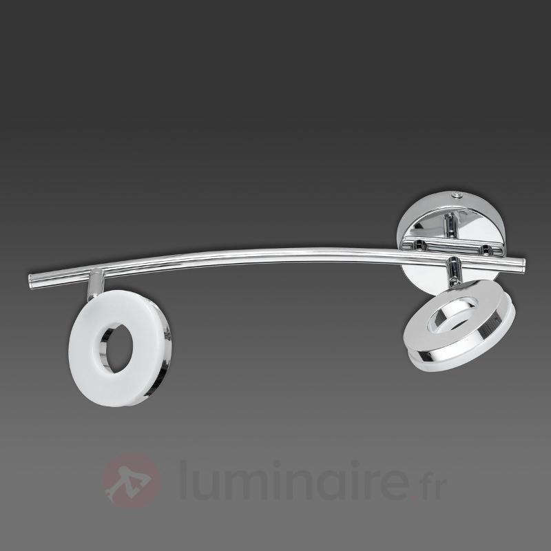 Plafonnier LED Rennes avec spots inclinables - Tous les plafonniers