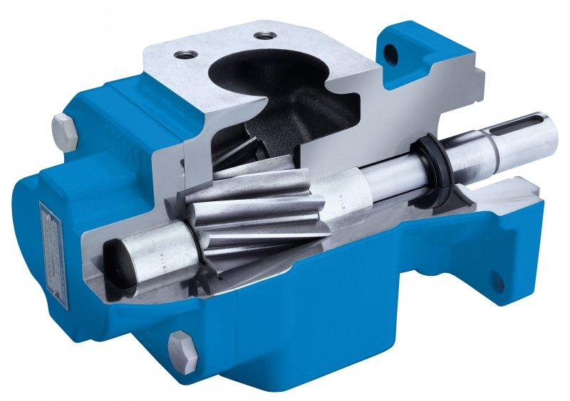 Gear pumps KF 2.5...630 - suitable for media with low lubricating properties