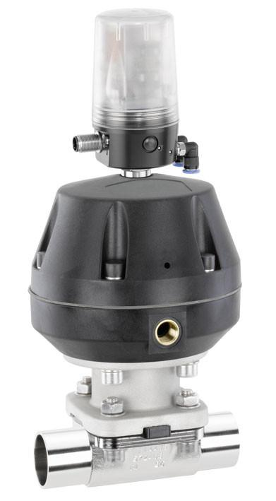 GEMÜ 687 - Pneumatically operated diaphragm valve