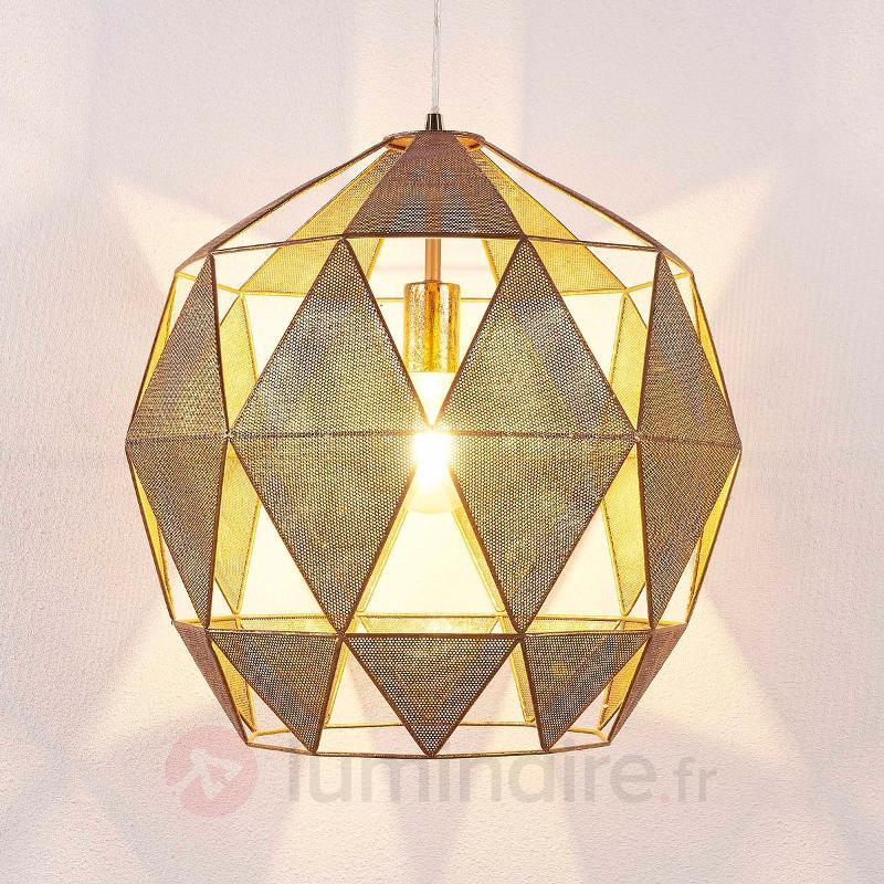 Janina - suspension à l'aspect attrayant, doré - Toutes les suspensions