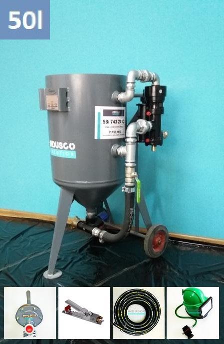 Sandstrahl Optimal: CLEMCO Ausrüstung und Arbeitsschutz