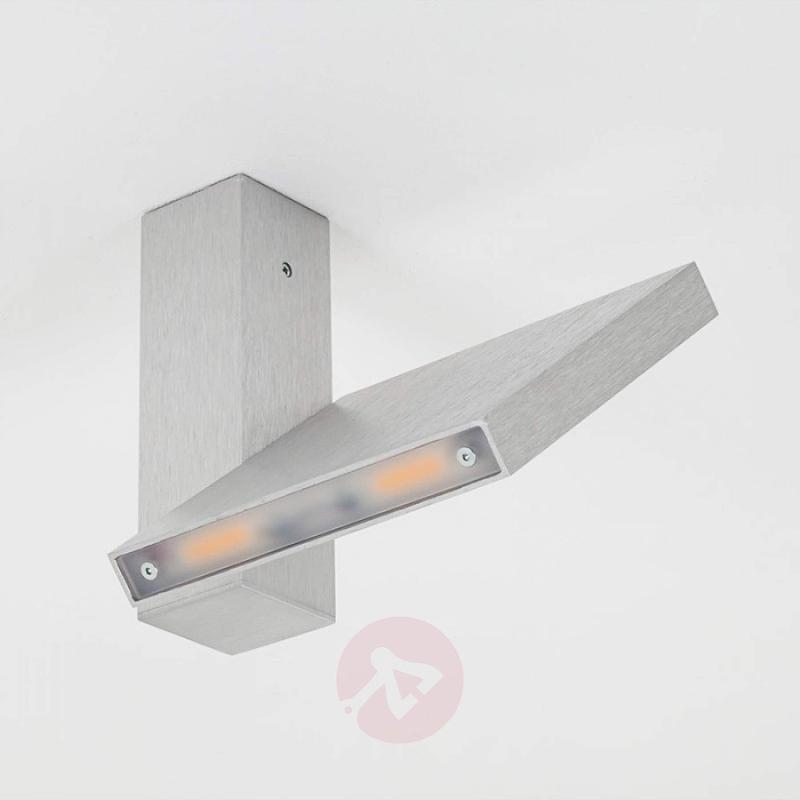 Abstract-modern LED ceiling light Ledicus flat - design-hotel-lighting