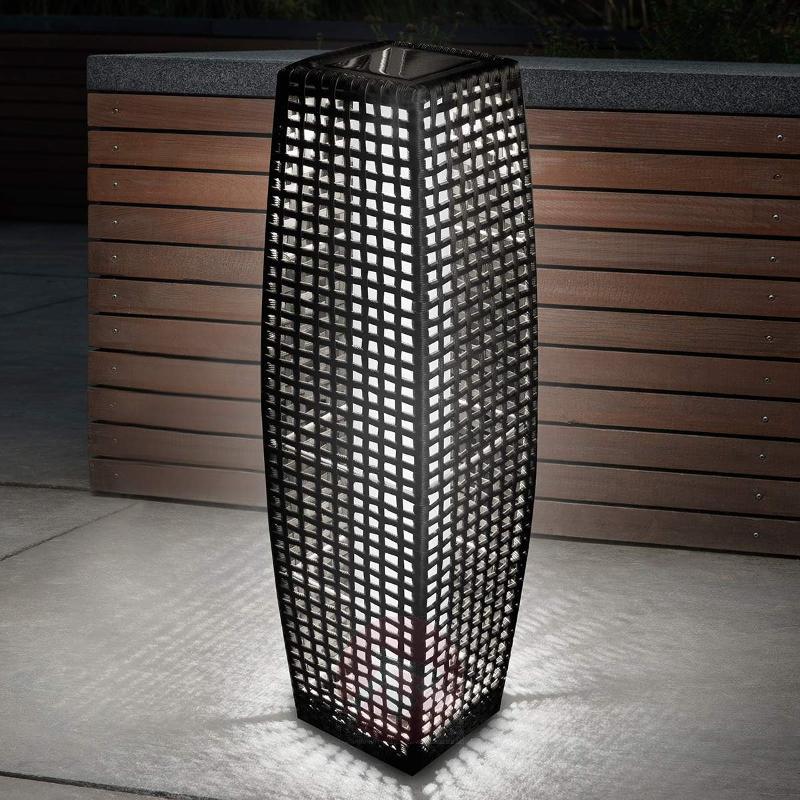 BIG Rattan - an effective solar LED light - Solar Lights