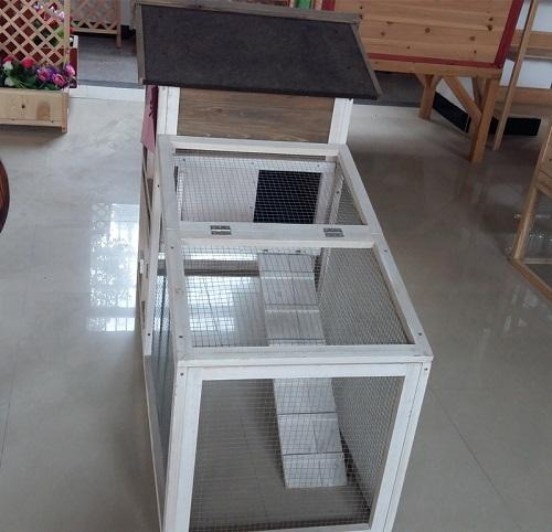 Rabbit cage - Wooden material