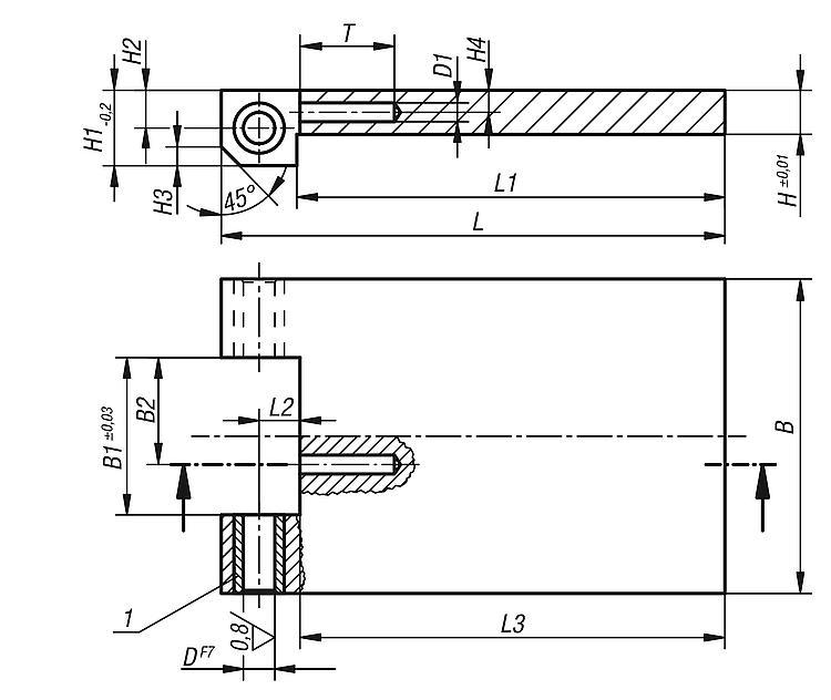 Drilling Plates - Drilling jigs Drill bushes Jig elements