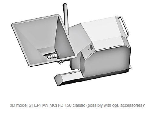 Affineur émulsionneur homogénéisateur broyeur - STEPHAN Microcut MCHD150