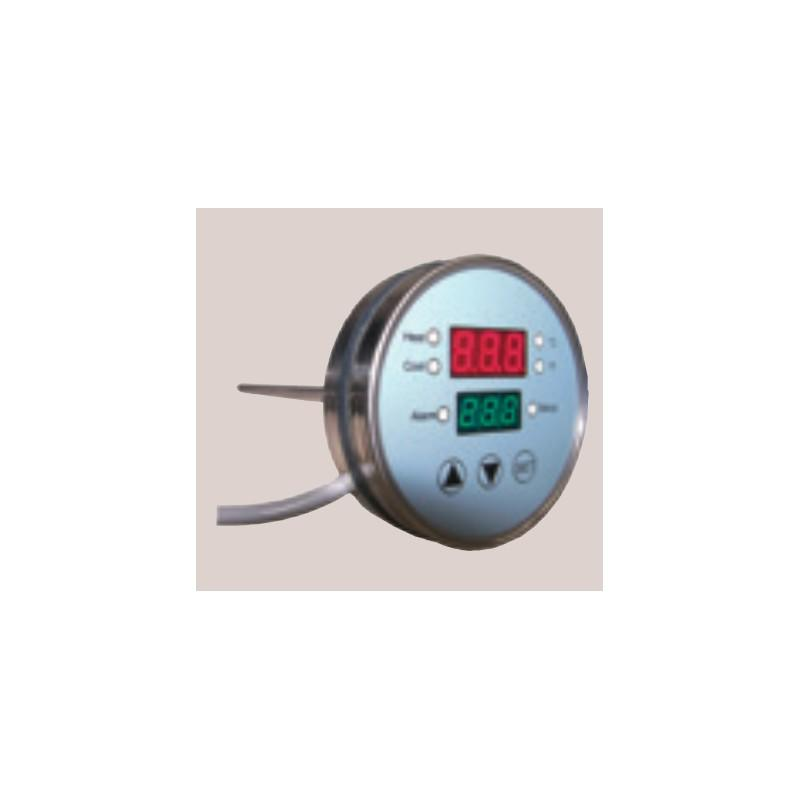 Thermomètre De Régulation Mono-cuve Tige Axiale - Thermometre