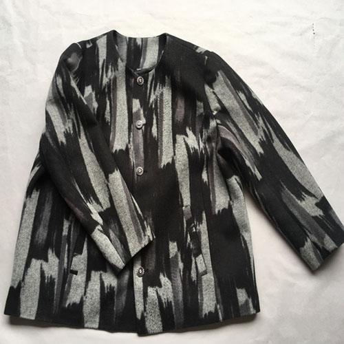 Women's coat black coat -