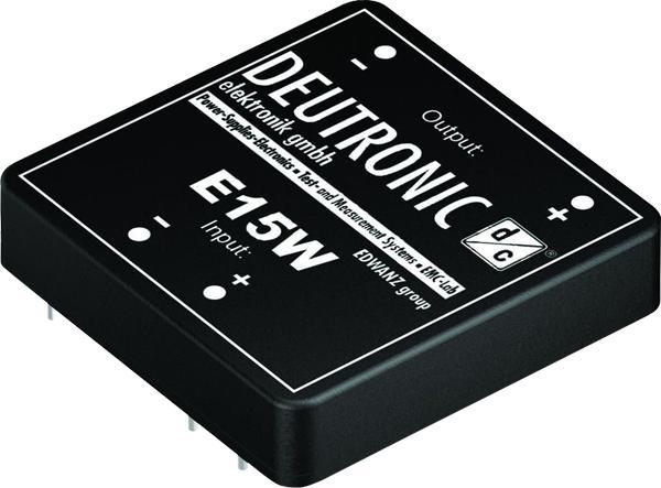 E15W 15 Watt 2x2 Zoll - DC-DC printed modules