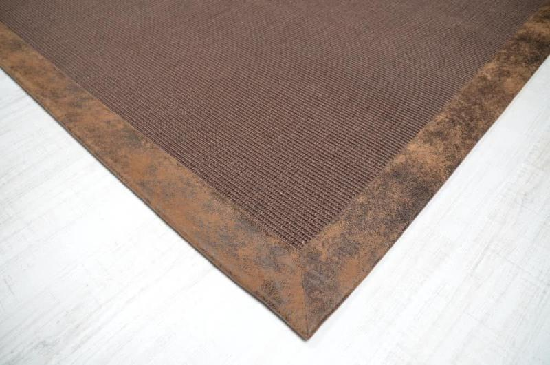 Sisal Teppich nach Maß - fein bouclé - Konfektion nach Maß, Skizze und Schablone