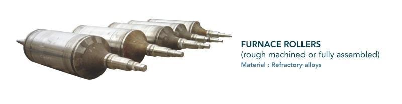 Furnace roller - Steel strip coating process