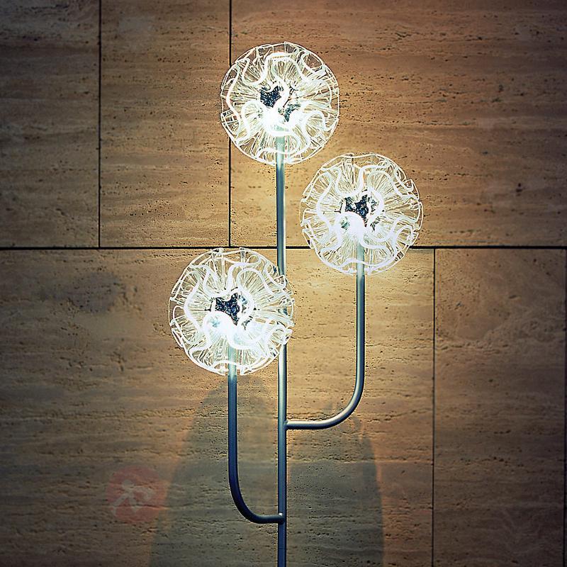 Lampadaire LED Coral au design chic