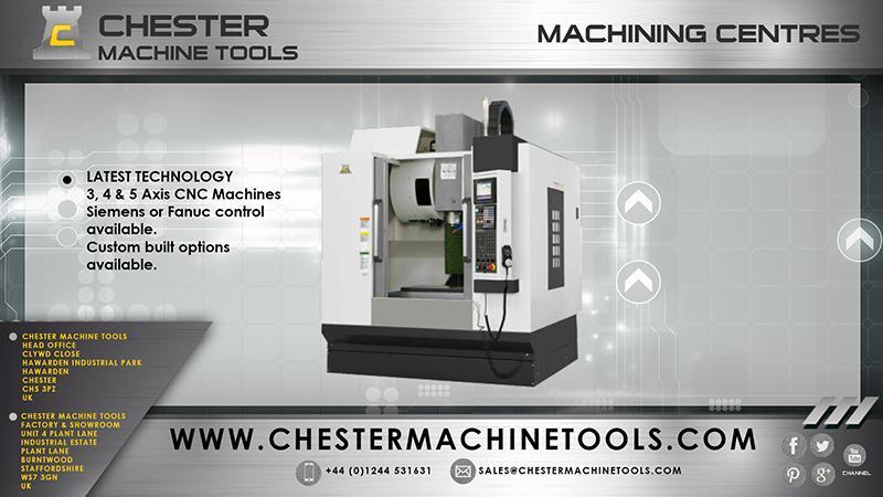 CNC Machining Centres -
