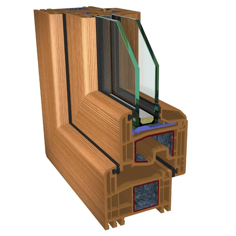 pvc-windows gealan s8000 - pvc-joinery